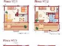 План коттеджа Pinea 97