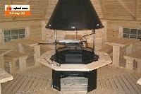 Интерьер гриль-домика «VIKING 25»