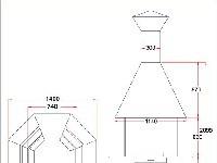 Размеры гриль-установки Premium L8