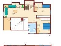 План коттеджа Nordia 215