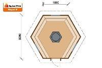 План гриль-домика ROYAL 9,2